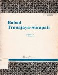 Babad Trunajaya – Surapati